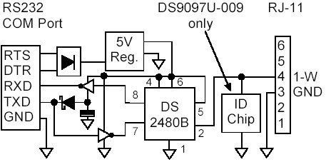 DS9097U schematic