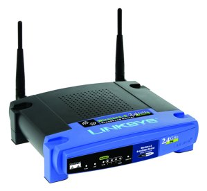 Linksys WRT54G wireless router